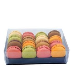 Macaron Classic Box Varia (16stuks)