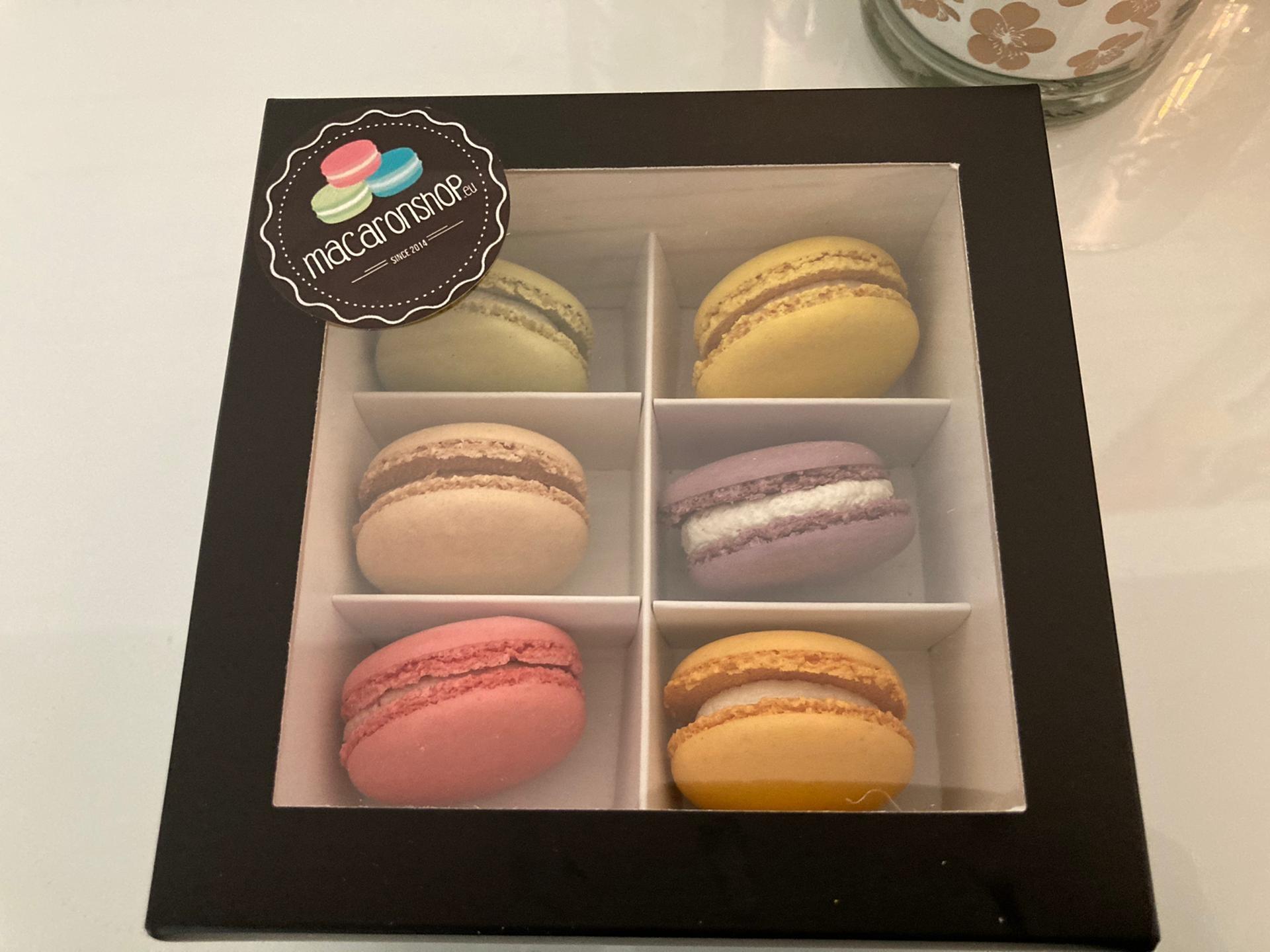 Macaronshop Macaron Luxe Box Varia (6 stuks)