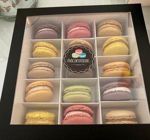 Macaron Luxe Box Varia (15 stuks)