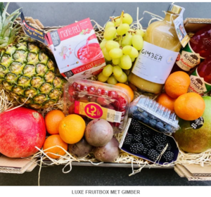 Luxe Fruit Box met Gimber
