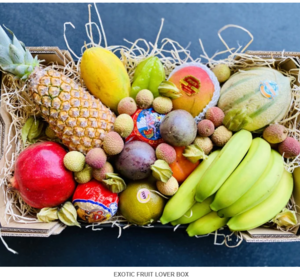 Exotique Fruit Lover Box