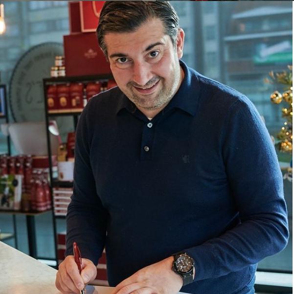 Peppe's Mezze Paccheri con Scampi