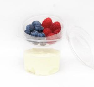 Vanillekwark met bessen 275gr