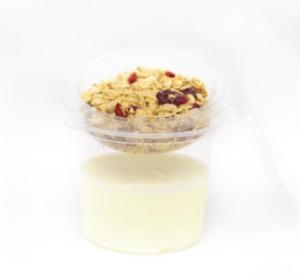 Vanillekwark met granola 275gr