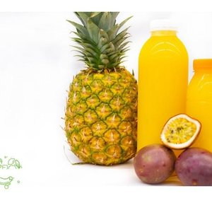 Vers Ananas-Passiesap