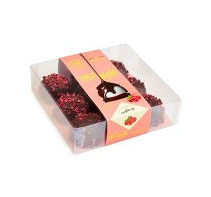 Melo-Cake Donkere Chocolade & Frambozen  85gr