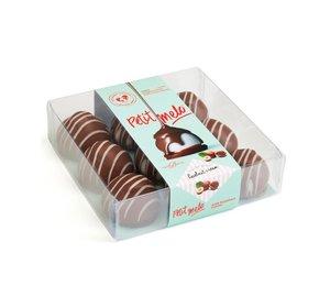 Melo-Cake Melchocolade & Hazelnootcreme  85gr