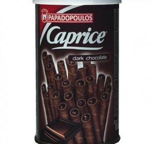 Caprice Wafelpijpjes Zwarte Chocolade 115gr