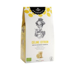 Céline Citron BIO (Glutenvrij) 120gr
