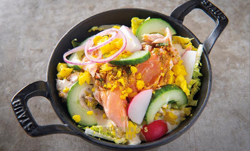 De Laet & Van Haver Nordic Zalm Salade 500gr