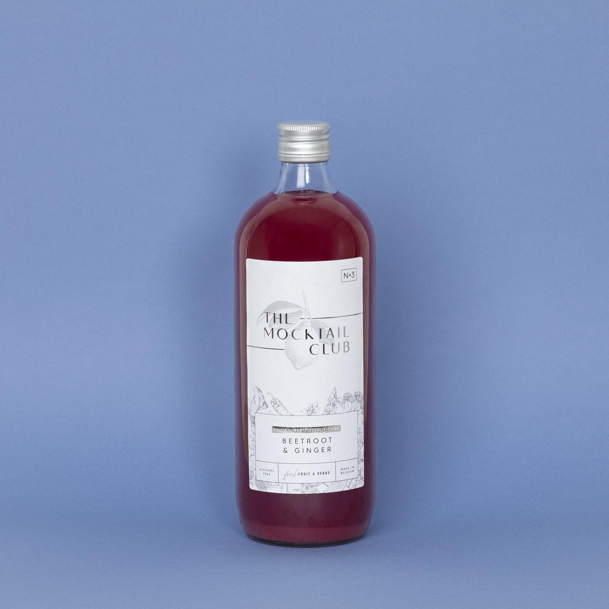 The Mocktail Club Beetroot & Ginger 1L