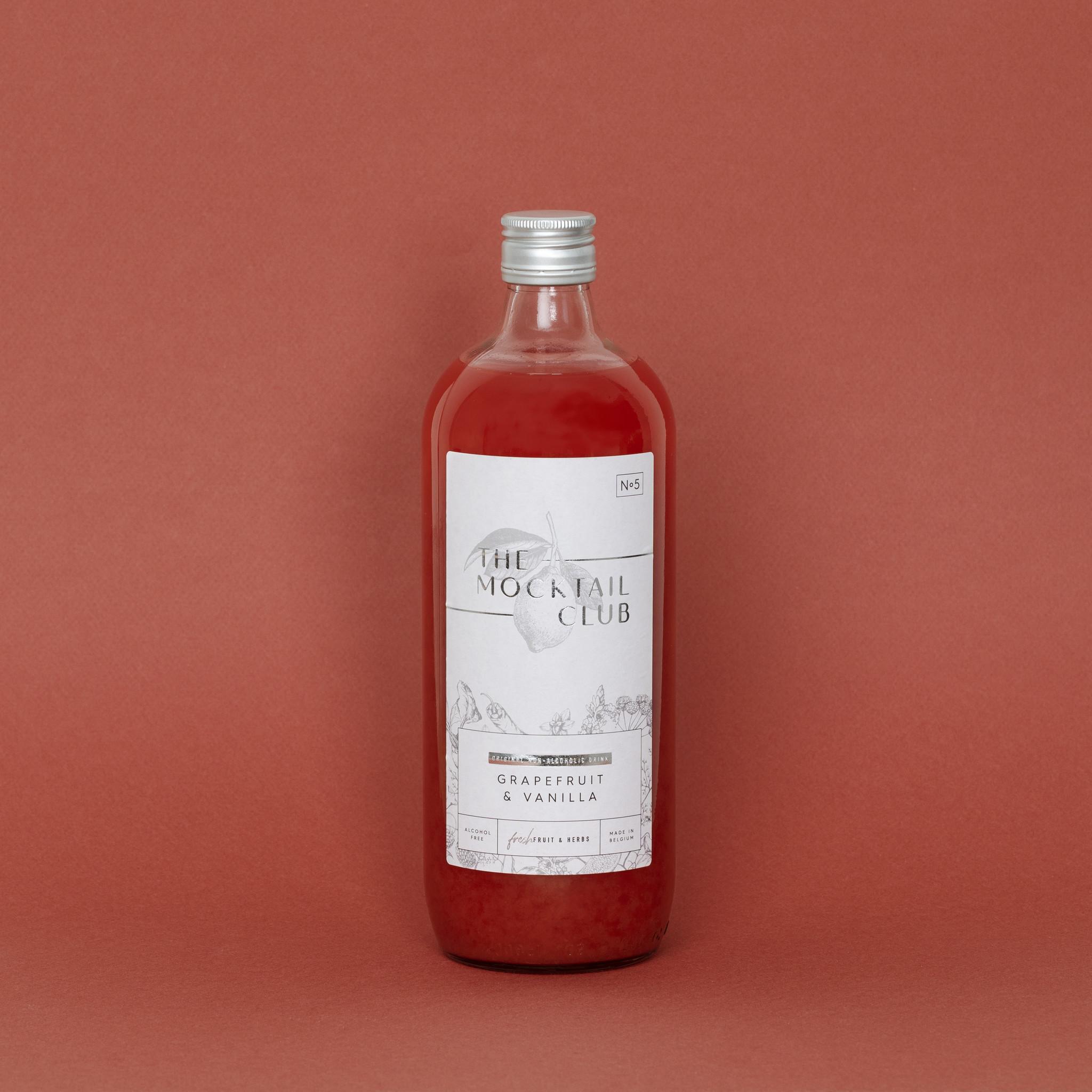 The Mocktail Club Grapefruit & Vanilla 1L