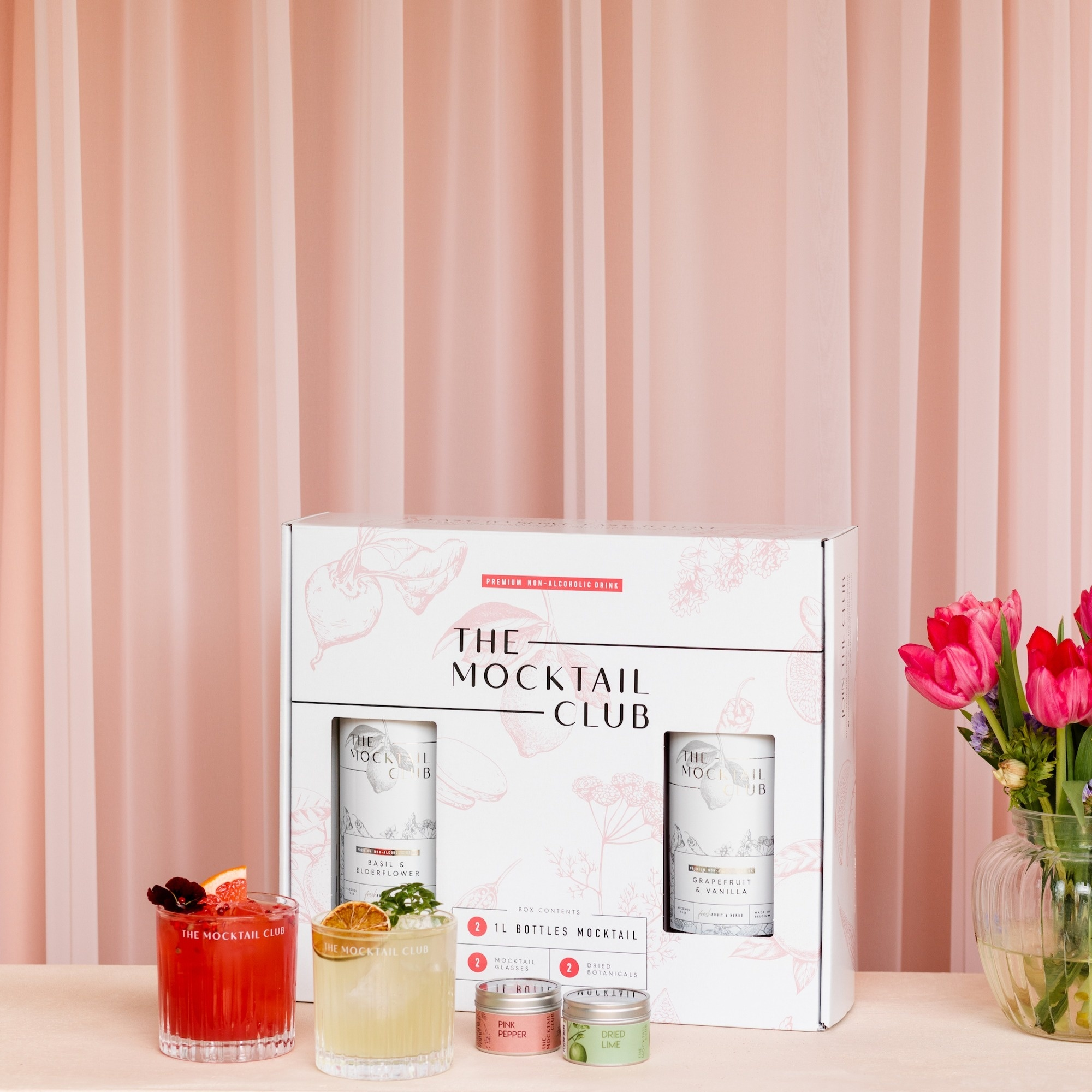 The Mocktail Club Giftbox: The Perfect Serve