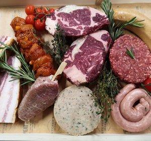 Njomly Summer Sharing Box: meat (2p -HG + NG)