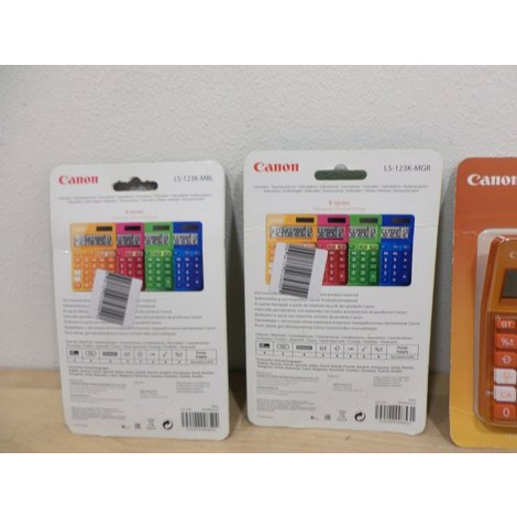 Canon LS-123K Rekenmachine | Nieuw