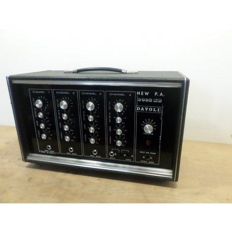 Davoli 8092 KB   Vintage PA Versterker 50 W   In Goede Staat