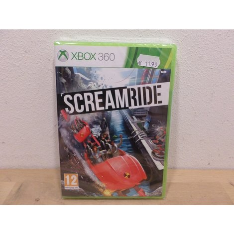 Screamride - Xbox 360 | Nieuw in seal