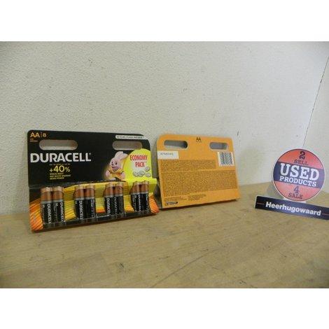 Duracell Duralock - 8 Pack AA Batterijen | LR6 | Nieuw