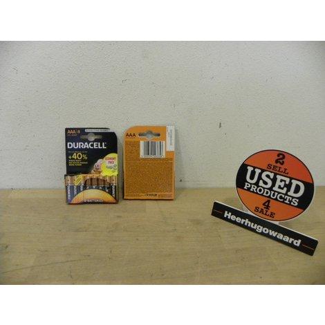 Duracell Duralock - 8 Pack AAA Batterijen | LR03 | Nieuw