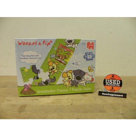Woezel & Pip Groeimeter Puzzel | 25 stukjes |  Nieuw in Doos