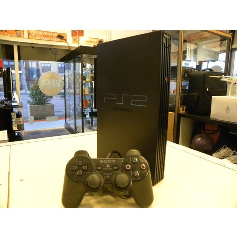 Sony Playstation 2 Phat Zwart | In Goede Staat