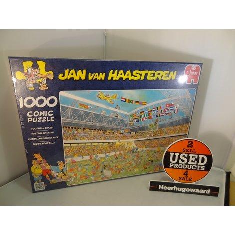 Jan van Haasteren - Voetbal Waanzin! - Puzzel - 1000 stukjes | Nieuw