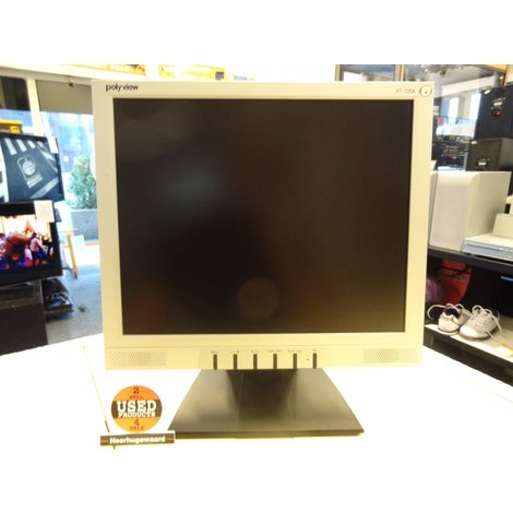 Polyview PT-725A | 17 inch Monitor | In Goede Staat