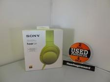Sony H.ear On MDR-100AAP Geel Nieuw in Doos