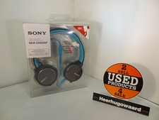 Sony MDR-ZX660AP | Blauw | Stereo Koptelefoon | Nieuw | 2 Jaar Garantie