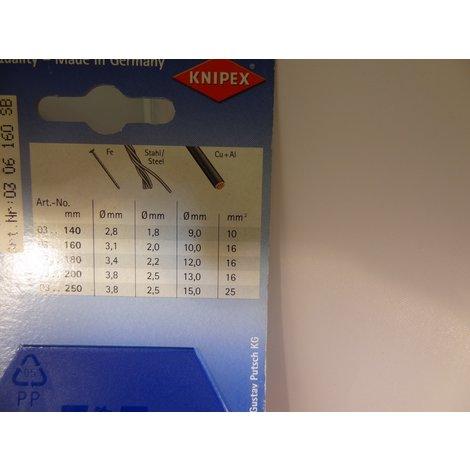 Knipex 03 06 160 VDE Combinatie Tang | 160 mm | Nieuw