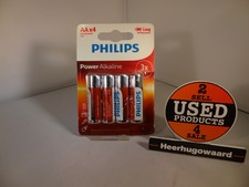 Philips AA Power Alkaline 4 Pack | Nieuw