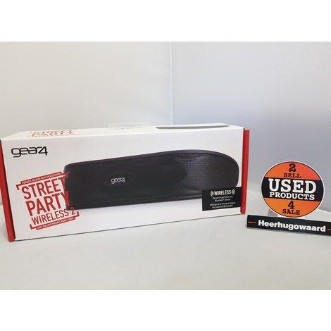 Gear4 StreetParty Wireless 2 - Bluetooth-speaker - Zwart - NIEUW