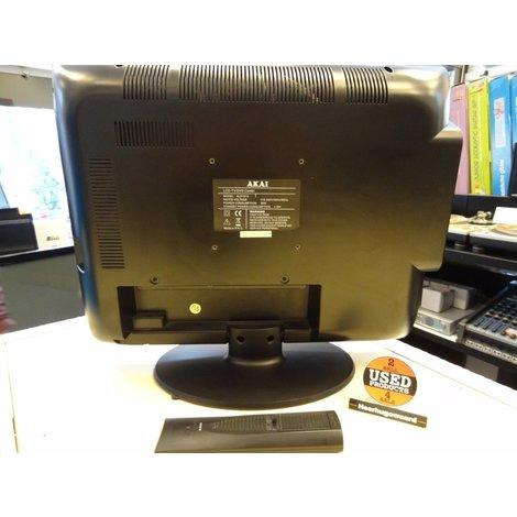 Akai ALD1910 LCD-TV DVD-Combi | In Goede Staat