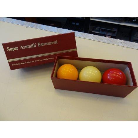 Super Aramith Tournament biljartballen | 61,5 mm | In goede staat