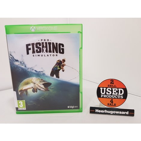 Xbox One Game: Pro Fishing Simulator