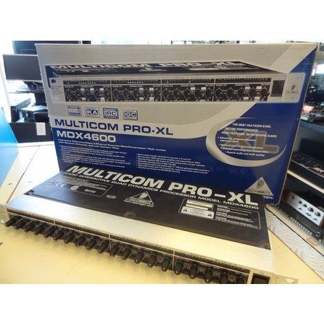 Behringer Multicom Pro-XL MDX4600 Audio Interface in Doos
