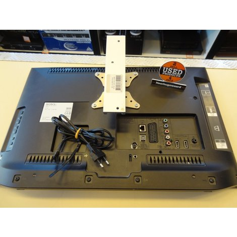 Sony KDL-22EX550   Zwart  HD Ready   In Goede Staat