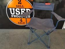 Camping stoel - blauw - in prima staat