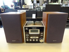 Akai QXA6700 Microset - Bruin/Zwart - In Prima Staat