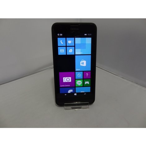Microsoft Nokia Lumia 630 4GB Zwart - In Goede Staat