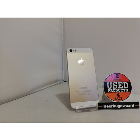 iPhone 5S 16GB Gold in Doos incl. Lader