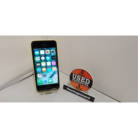 iPhone 5C 8GB Geel incl. Lader