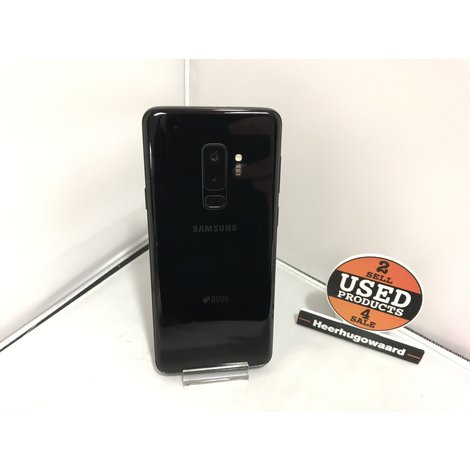 Samsung Galaxy S9 Plus 128GB Midnight Black incl. Lader in Nette Staat
