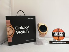 Samsung Galaxy Watch 42mm Rose Gold Compleet in Doos