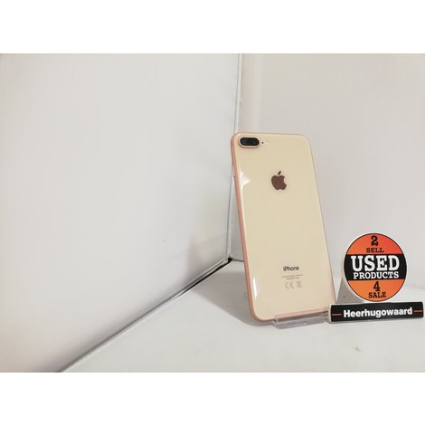 iPhone 8 Plus 64GB Gold incl. Lader in Nette Staat