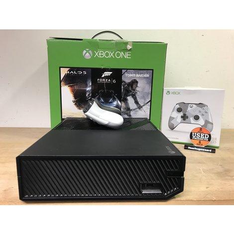 Xbox One Phat 500GB Zwart Compleet in Doos