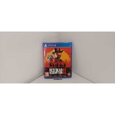 PS4 Game: Red Dead Redemption 2
