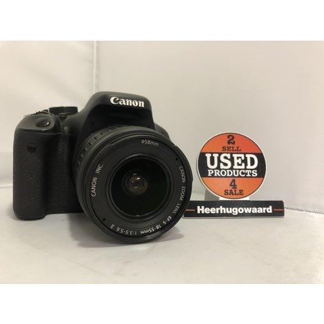 Canon EOS 600D incl. EFS 18-55mm Lens, Accu en Lader in Nette Staat