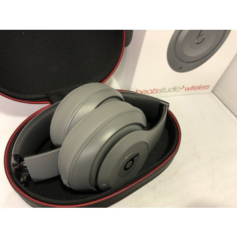 Beats Studio 3 Wireless Gray Koptelefoon ZGAN Compleet in Doos