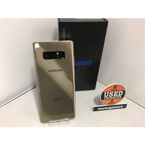 Samsung Galaxy Note 8 64GB DUOS Gold Compleet in Doos